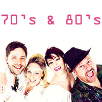 '.70's & 80's Tribute Band.'